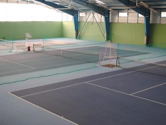 Hotel Makár-teniszcsarnok, tennis hall